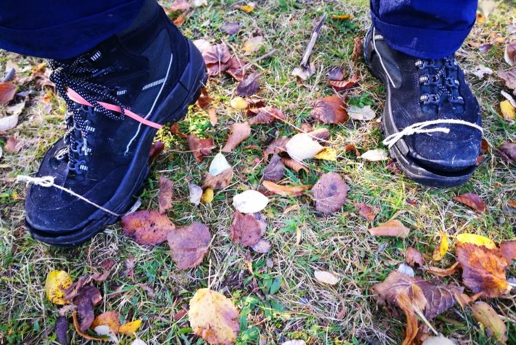 Gelaufen wurde bis die Sohlen qualmten und sich von den Schuhen lösten!
