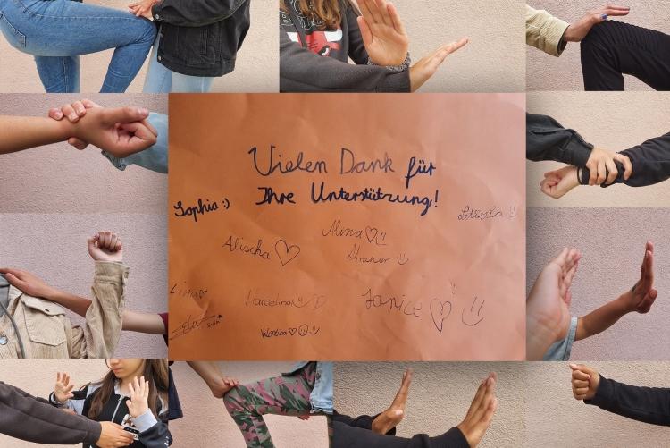 Danke schön an Zonta für Power Girls Kurs in Bonndorf